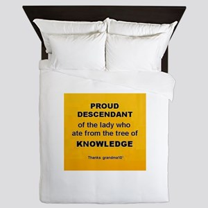 Proud Descendant Queen Duvet