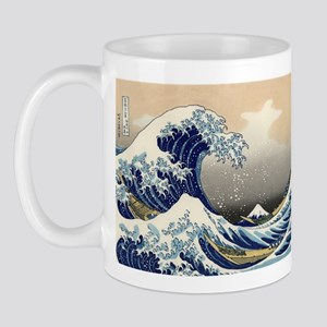 The Great Wave by Hokusai Mug