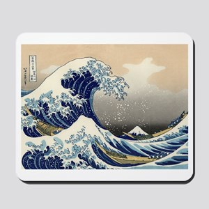 The Great Wave by Hokusai Mousepad