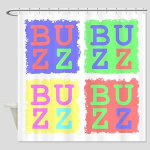 Buzz Shower Curtain