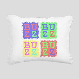 Buzz Rectangular Canvas Pillow
