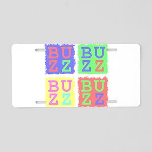 Buzz Aluminum License Plate