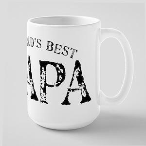 World's Best Papa 15 oz Ceramic Large Mug