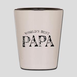 World's Best Papa Shot Glass