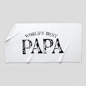 World's Best Papa Beach Towel