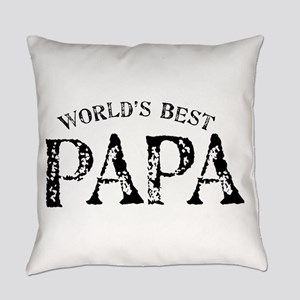 World's Best Papa Everyday Pillow