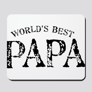 World's Best Papa Mousepad