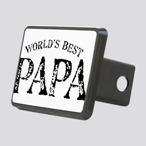 World's Best Papa Rectangular Hitch Cover