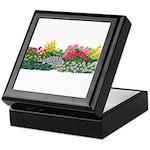 Flower Garden Keepsake Box