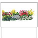 Flower Garden Yard Sign