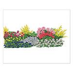 Flower Garden Small Poster