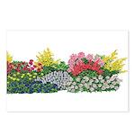 Flower Garden Postcards (Package of 8)