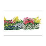 Flower Garden Mini Poster Print