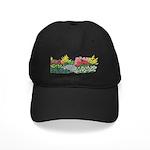 Flower Garden Black Cap
