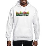 Flower Garden Hooded Sweatshirt
