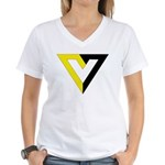 Voluntaryist Women's V-Neck T-Shirt