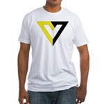 Voluntaryist Fitted T-Shirt