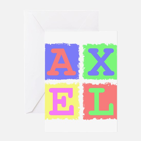 Axel Greeting Cards