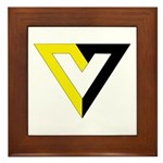 Voluntaryist Framed Tile