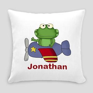 Jonathan's Flying Frog Everyday Pillow