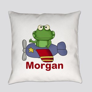 Morgan's Flying Frog Everyday Pillow
