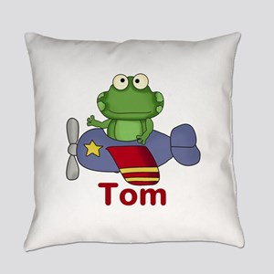 Tom's Flying Frog Everyday Pillow