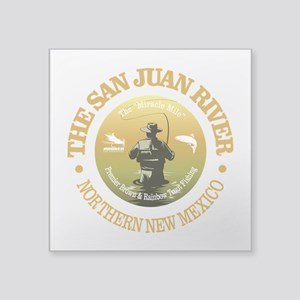 San Juan River Sticker