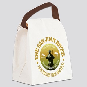 San Juan River Canvas Lunch Bag