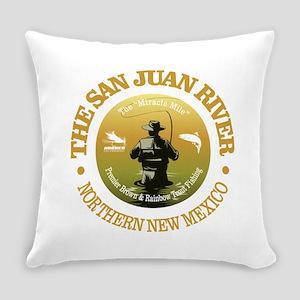 San Juan River Everyday Pillow