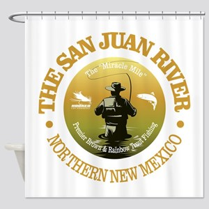 San Juan River Shower Curtain