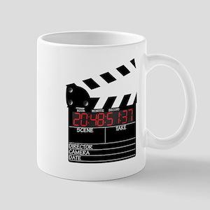 Digital Clapper Board Mugs