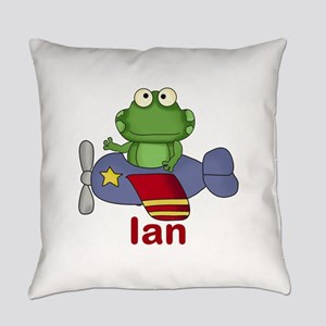 Ian's Flying Frog Everyday Pillow