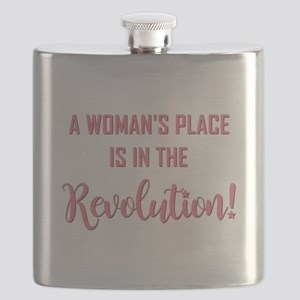 A WOMAN'S PLACE... Flask