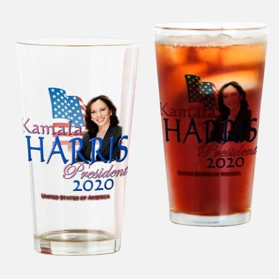 Kamala Harris Drinking Glass