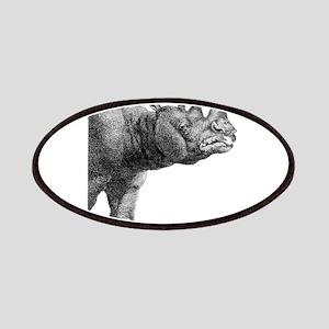 rhino head Patch