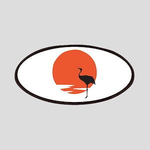 Crane Bird Patch