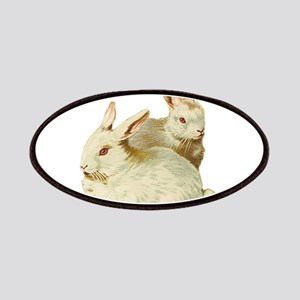 White easter rabbits Patch