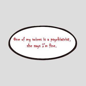 Psychiatrist Patch