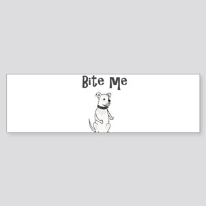 American Bulldog Cartoon Bumper Sticker