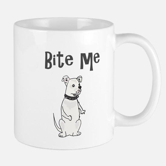 American Bulldog Cartoon Mugs