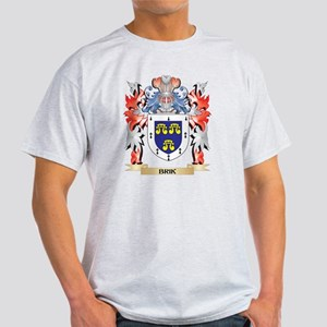 Brik Coat of Arms - Family Crest T-Shirt