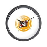 Save That Show Logo Wall Clock