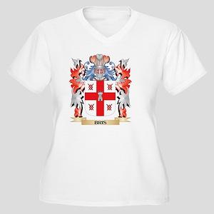 Bris Coat of Arms - Family Crest Plus Size T-Shirt