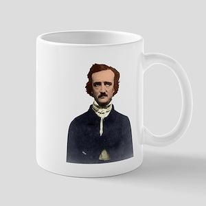Colorized Edgar Allan Poe Photograph Mugs