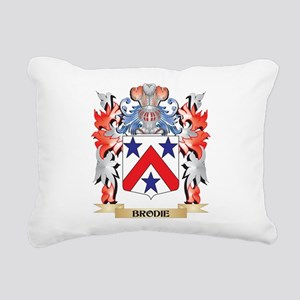 Brodie Coat of Arms - Fa Rectangular Canvas Pillow