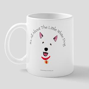 White Schnauzer Mug