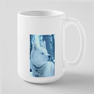 White Wolf Large Mugs