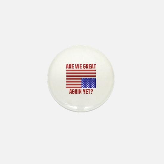 Cute Upside down flag Mini Button