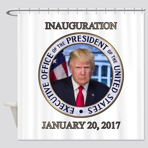 PRES45 01-20-17 Shower Curtain