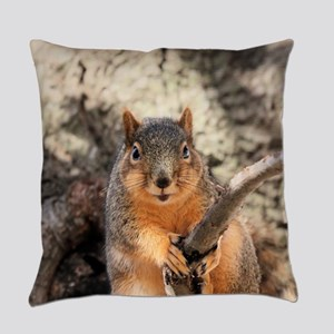 Squirrel Everyday Pillow